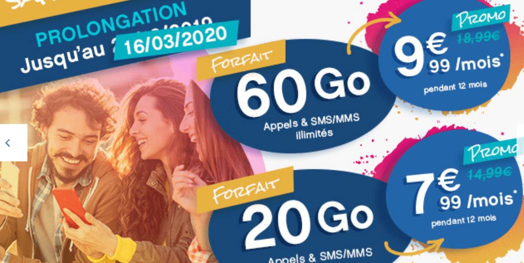 le forfait en promotion de Coriolis Telecom