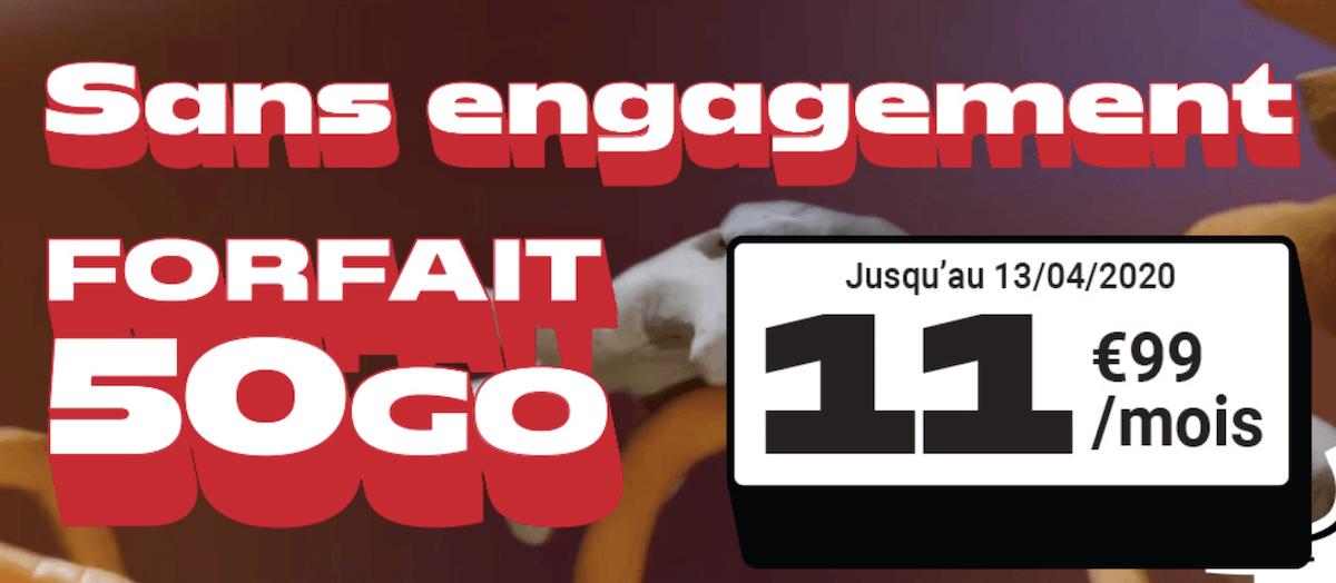 Le forfait en promo de NRJ Mobile disponible en ce moment