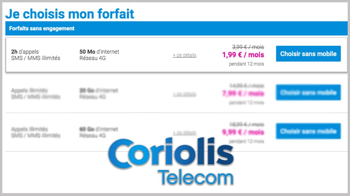 50 Mo avec Coriolis Telecom