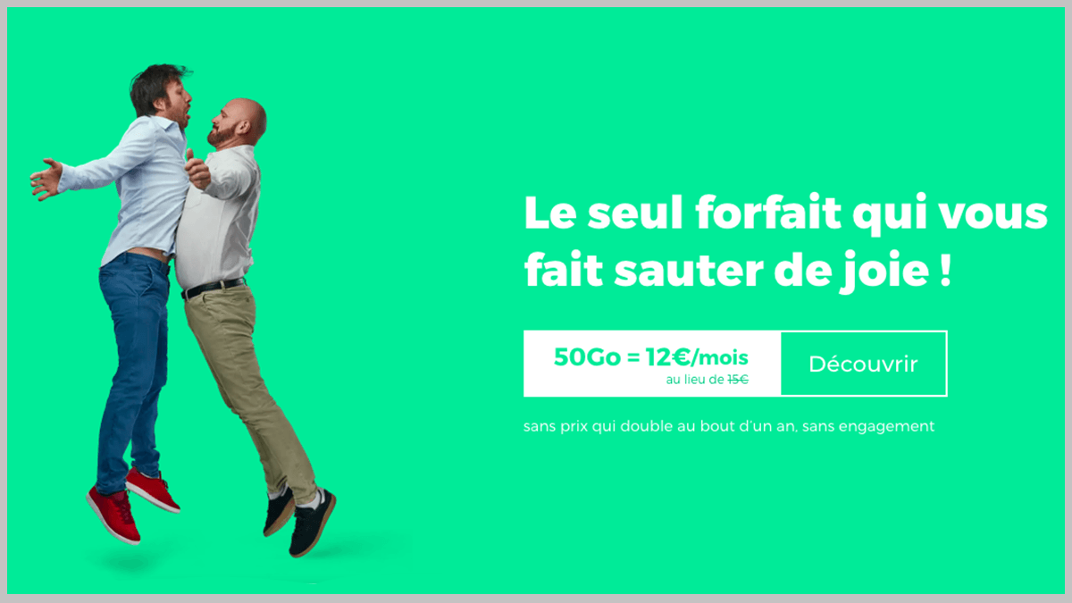 Forfait RED à 12€