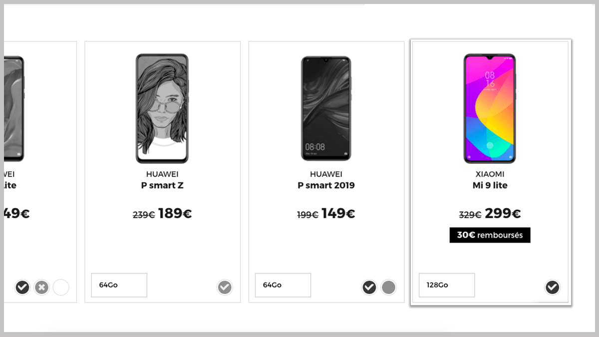 Smartphone Xiaomi Mi 9 Lite