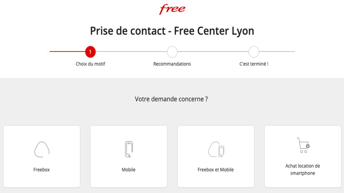 Les choix d'assistance du Free Center