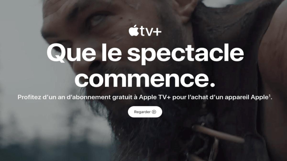 Apple TV offert pour tout achat d'iPhone SE