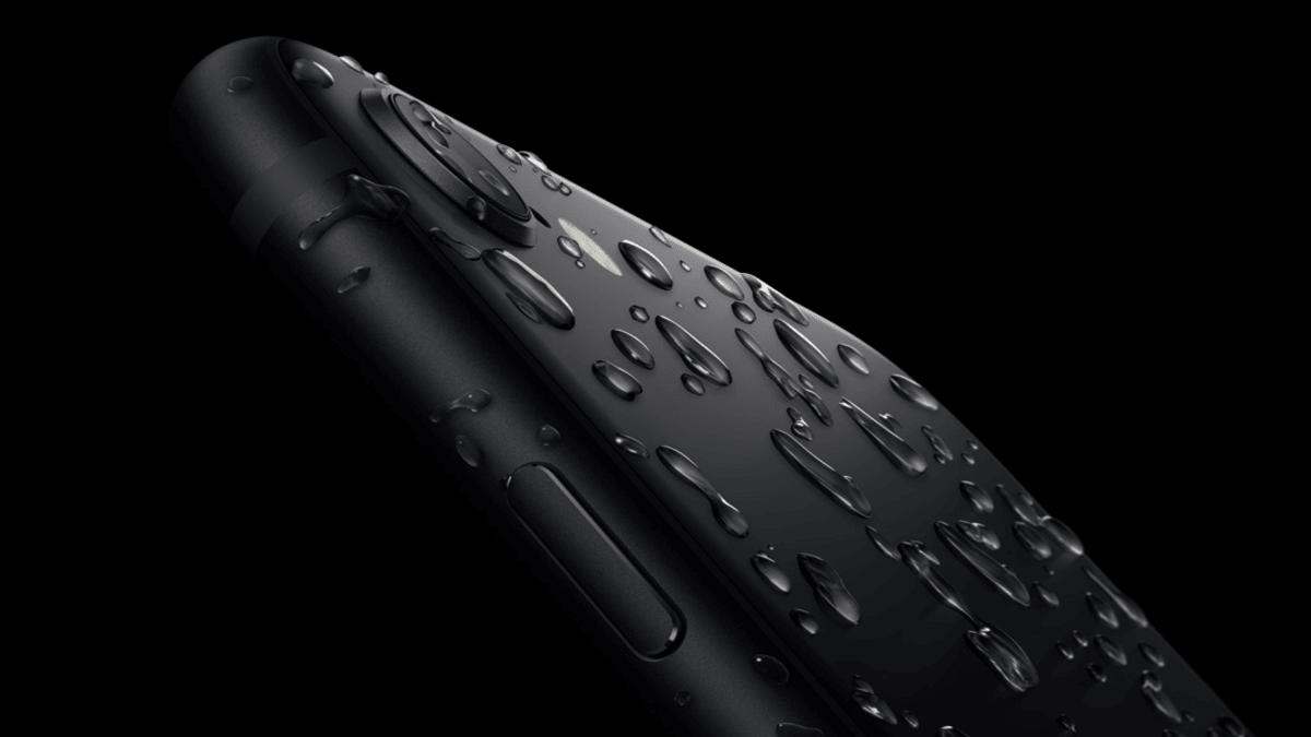 L'iPhone SE 2020 est étanche
