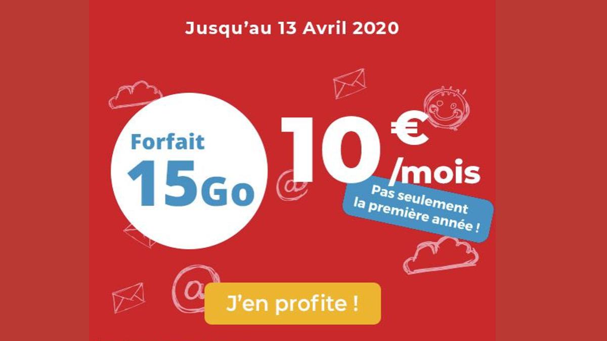 Forfait 10€ d'Auchan Telecom