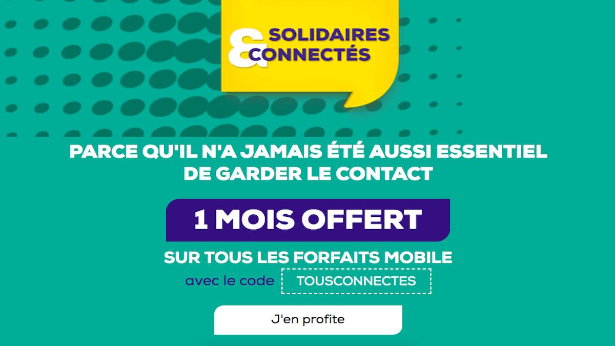 Offre spéciale code promo forfaits la Poste mobile