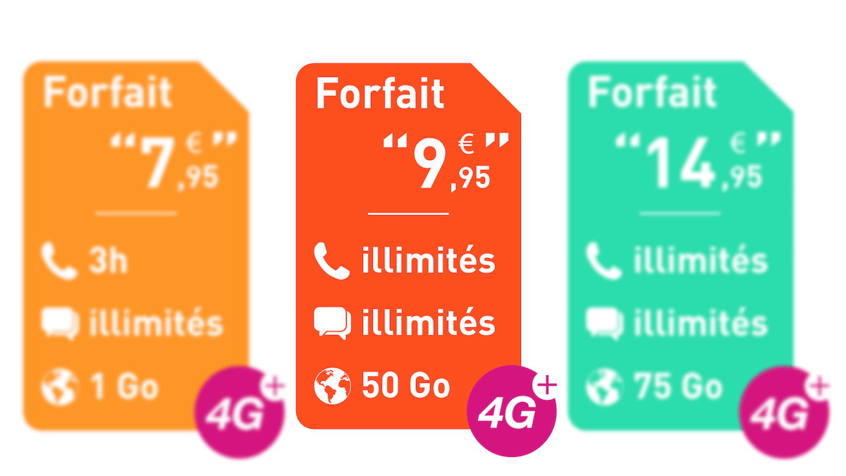 Forfait 10€ dans le catalogue Reglo Mobile