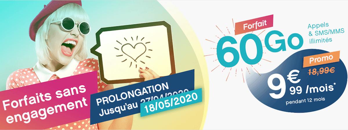 L'offre promotionelle de Coriolis Telecom à 9,99€/mois