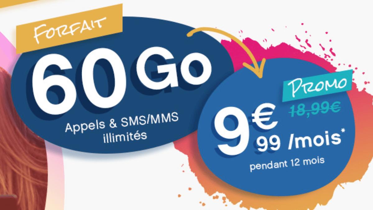 60 Go de data à moins de 10€ pour le forfait en promo de Coriolis