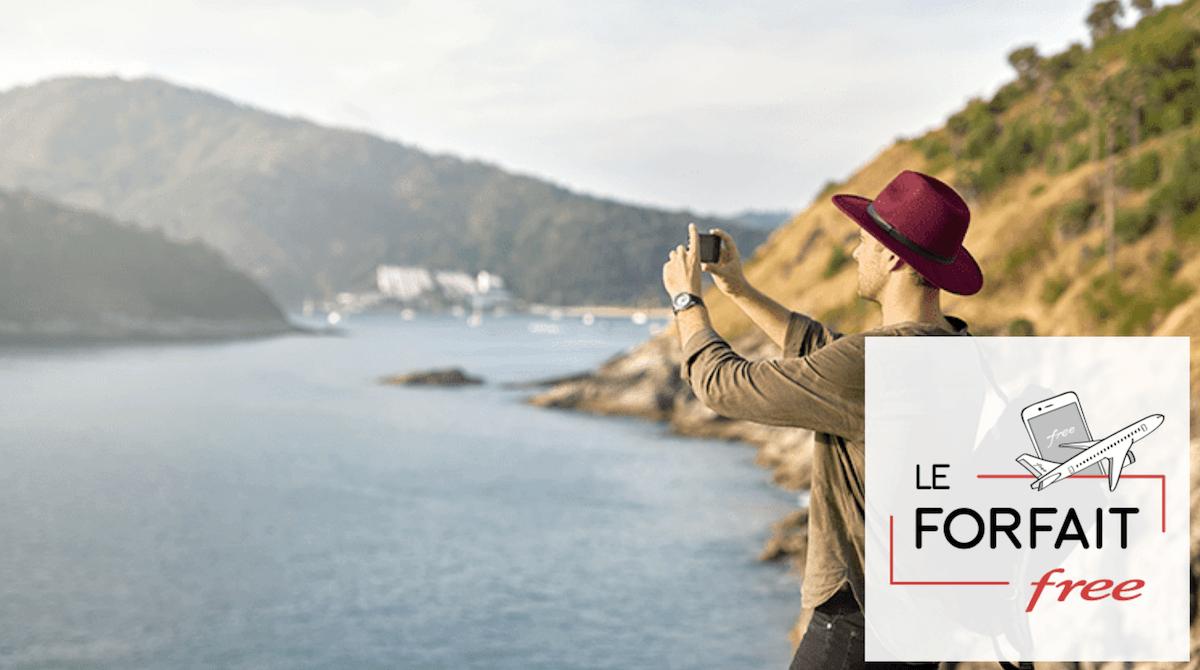 100 Go de data à l'étranger avec le forfait Free à 19,99€/mois