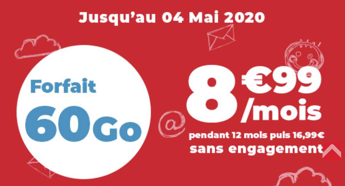Comment profiter du forfait 60 Go d'Auchan Telecom ?