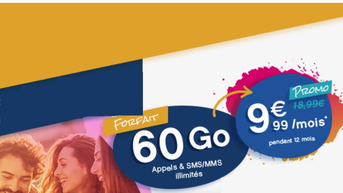 Le forfait 4G Coriolis Télécom est sans engagement