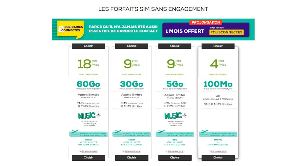 Code promo forfaits La Poste Mobile