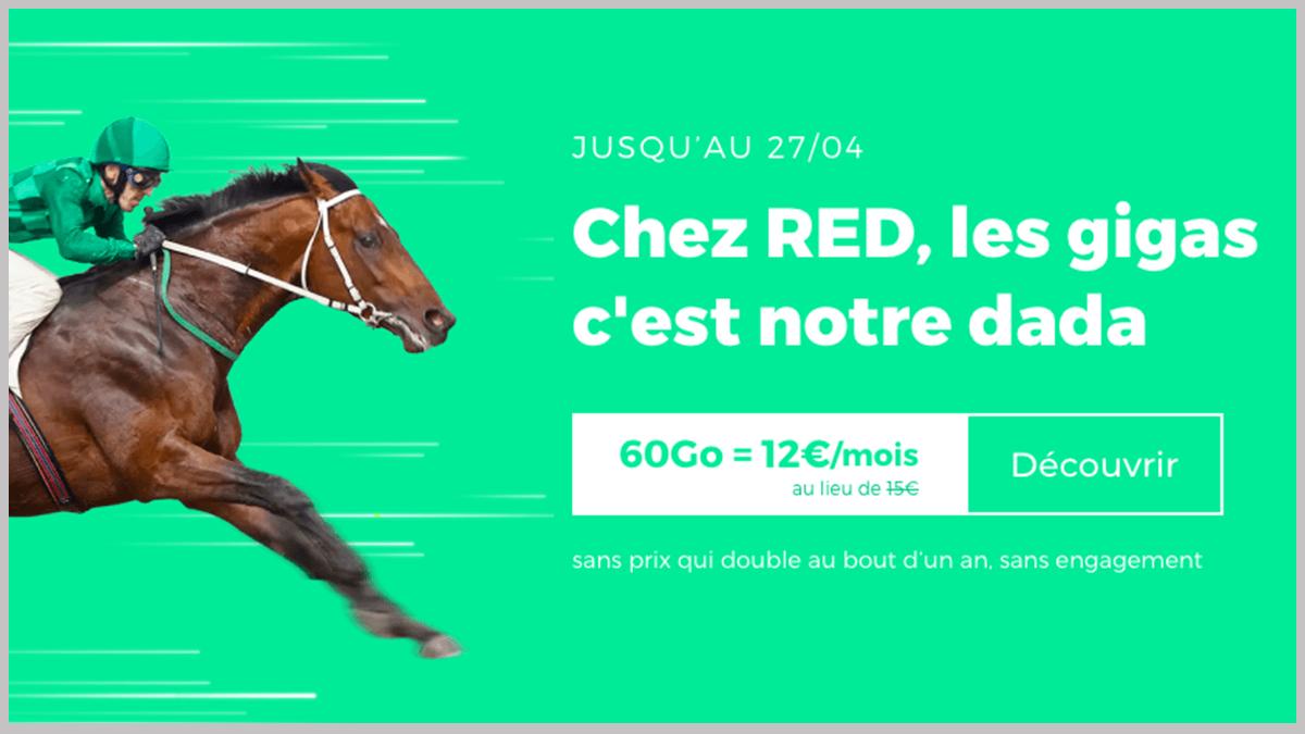 RED by SFR sans engagement en promo