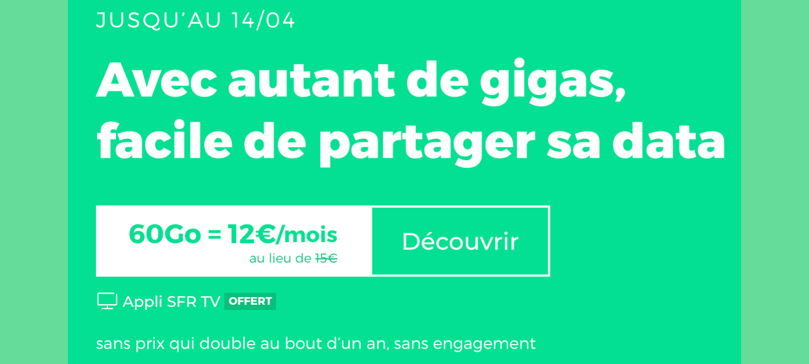 Forfait mobile pas cher RED by SFR