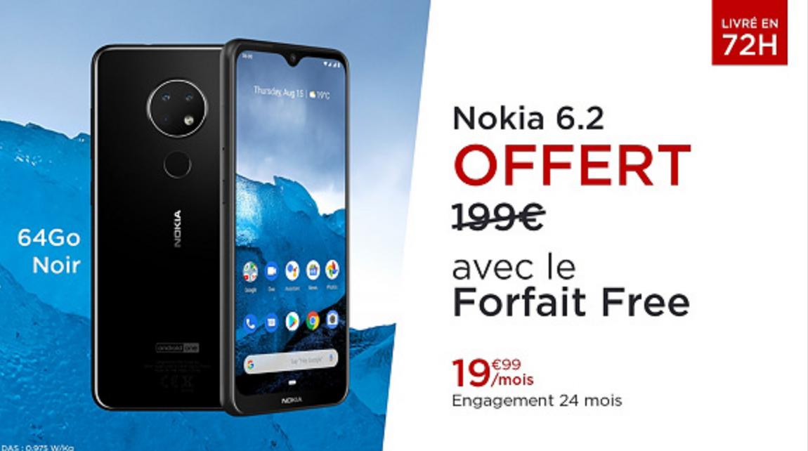 Vente privee Free Nokia