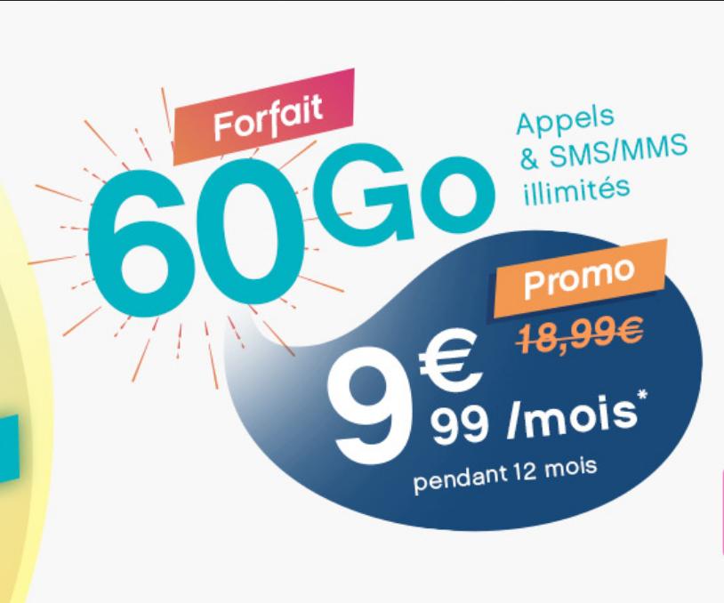 L'offre Coriolis de 60 Go pour 9,99€ par mois sur un an