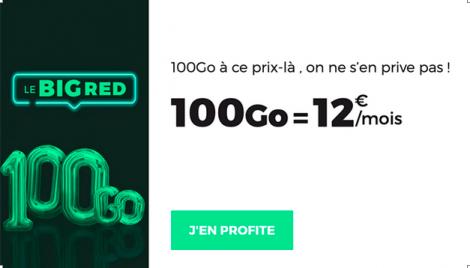 BIG RED 100 Go
