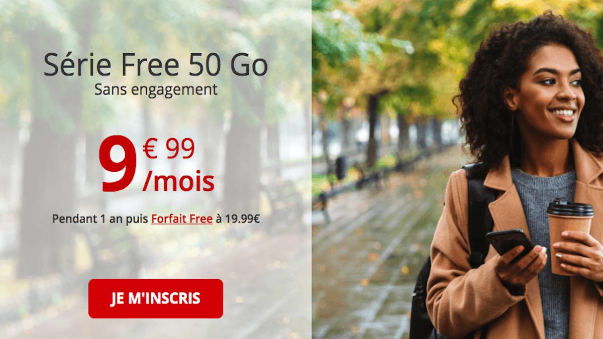 série limitée free 50 Go