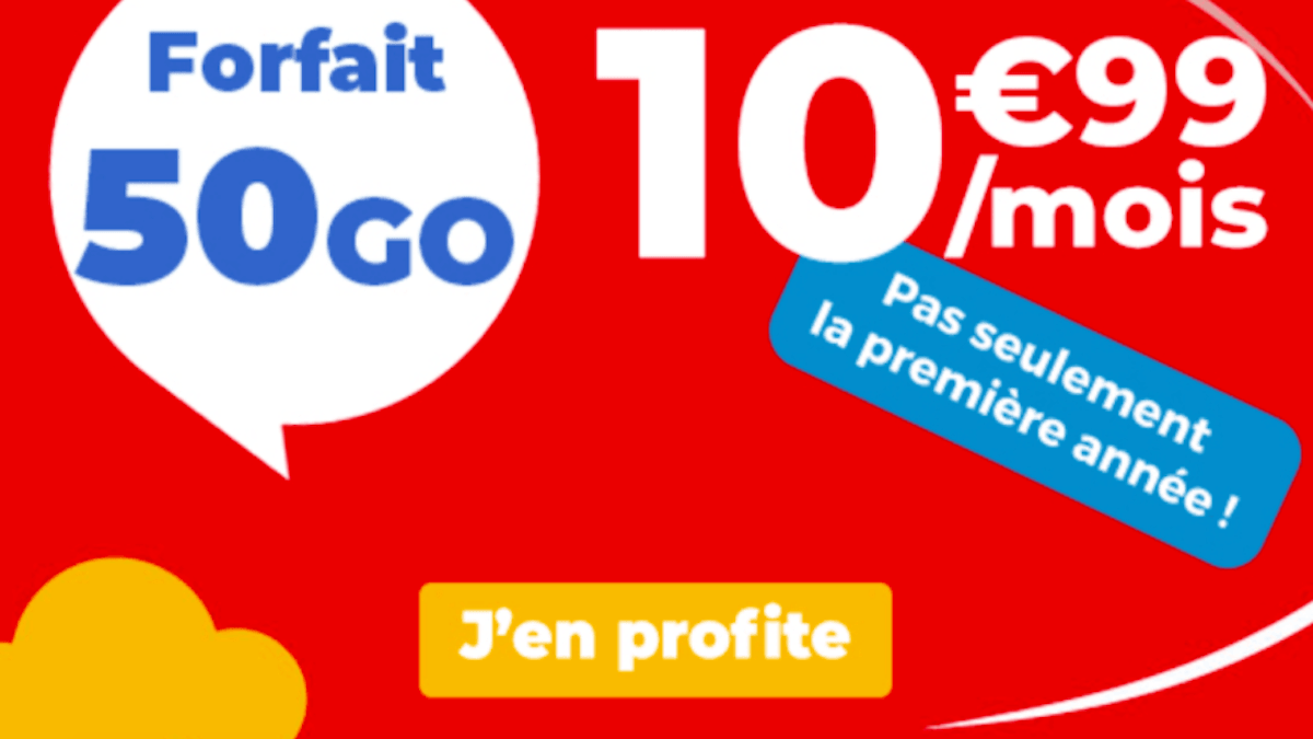 forfait Auchan Telecom série limitée