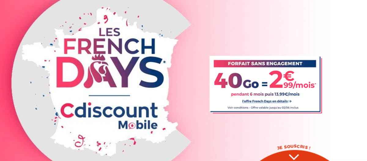 Les Frenc Days de Cdiscount Mobile