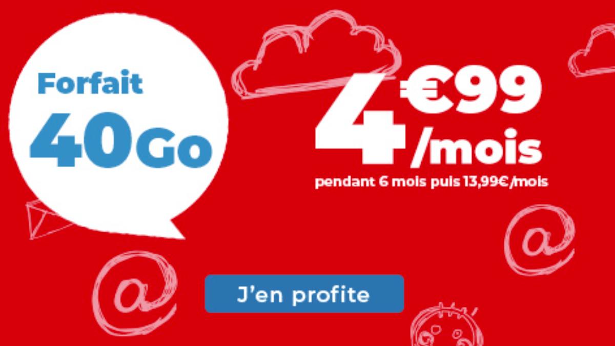 Le forfait pas cher de Auchan Telecom est en promotion pendant 6 mois.