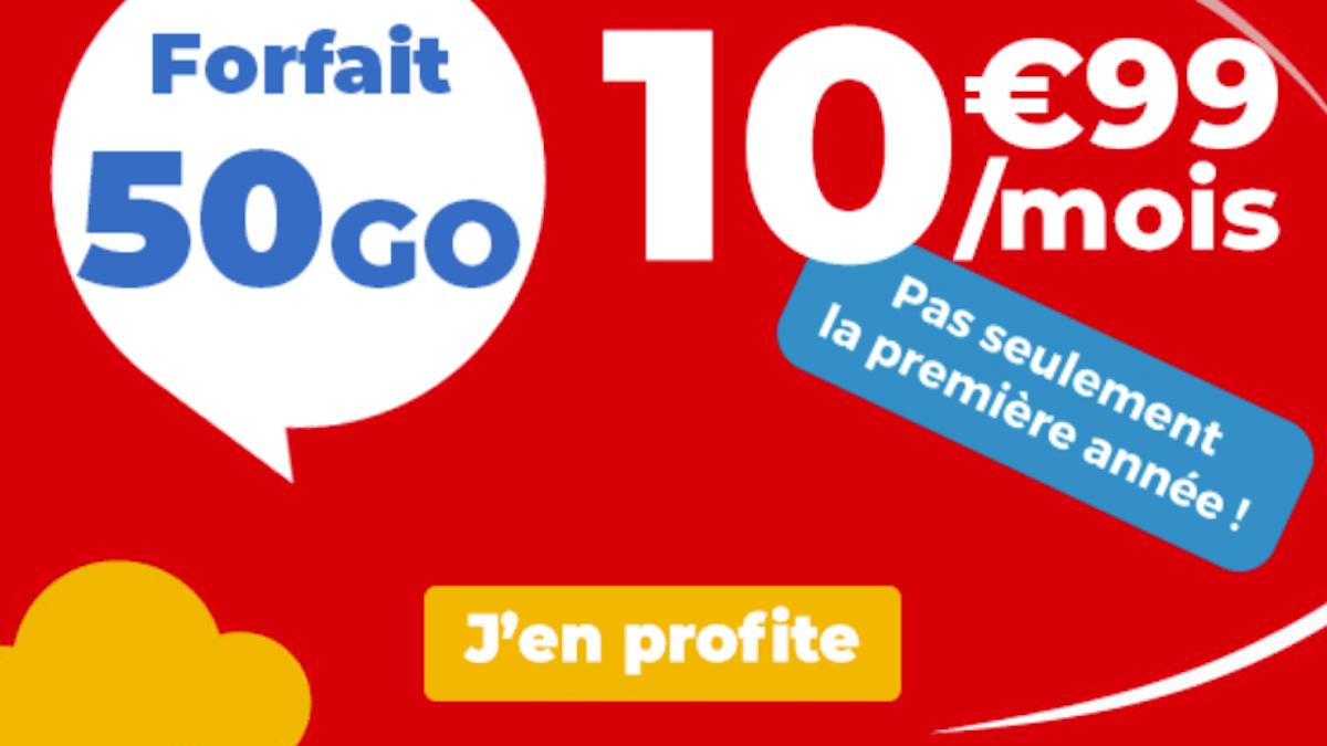 Forfait en promo Auchan Telecom