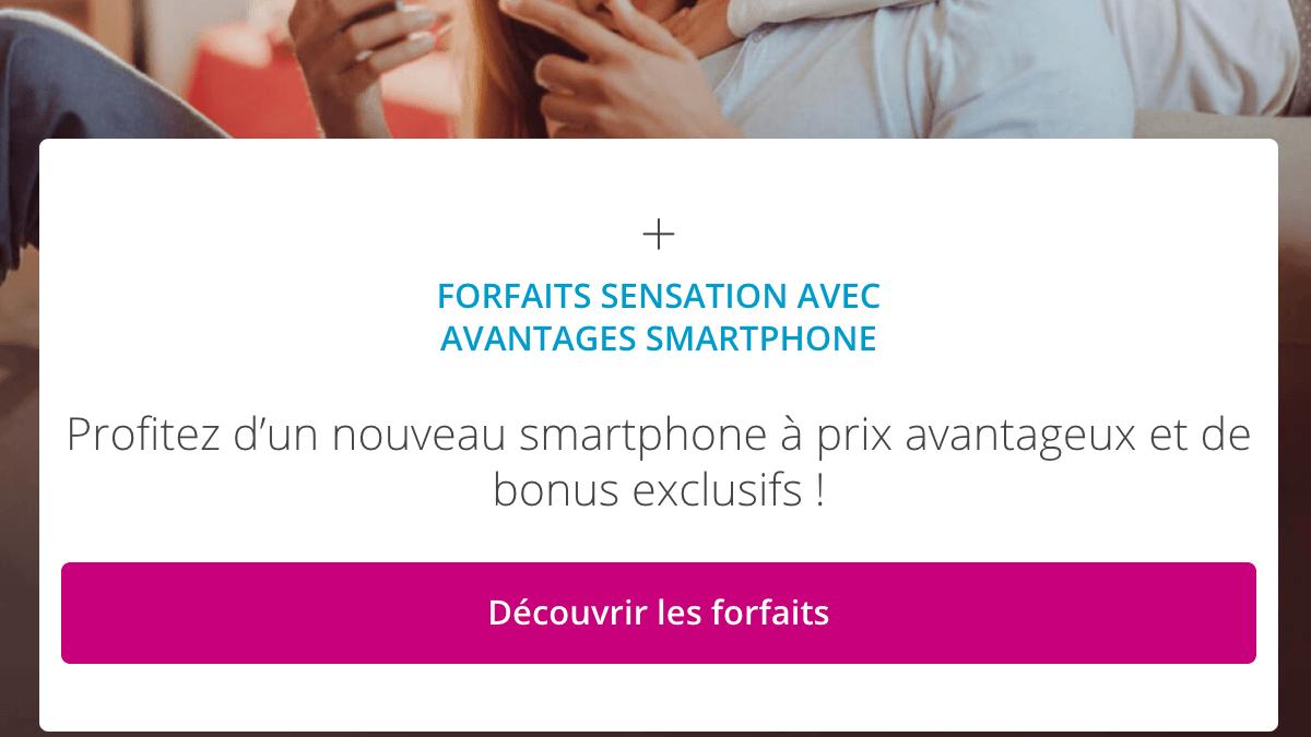 Forfait Sensation 70 Go Bouygues Telecom.