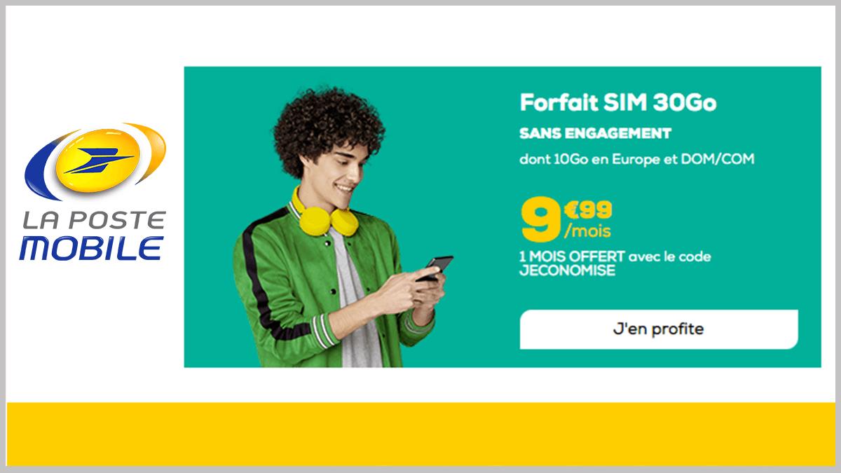 La Poste Mobile à 10€/mois