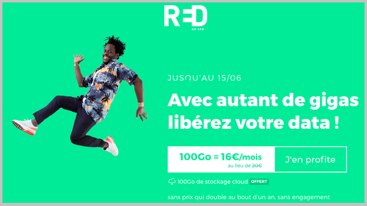 RED by SFR avec options