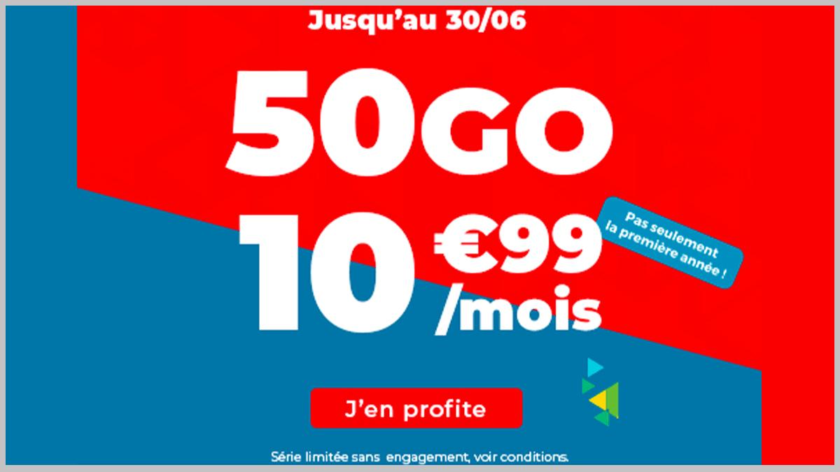Auchan Telecom 50 Go en promo
