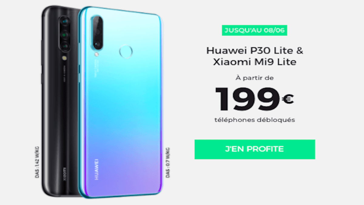 Promo Huawei P30 Lite RED by SFR