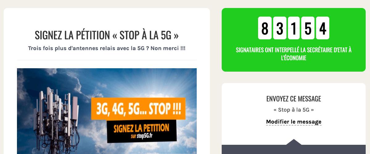pétition 5G