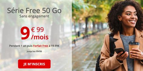 Forfait Free 50 Go