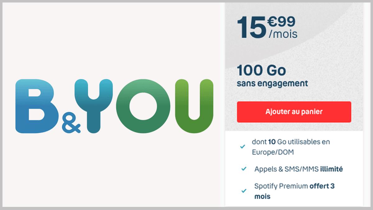 100 Go avec Spotify Premium