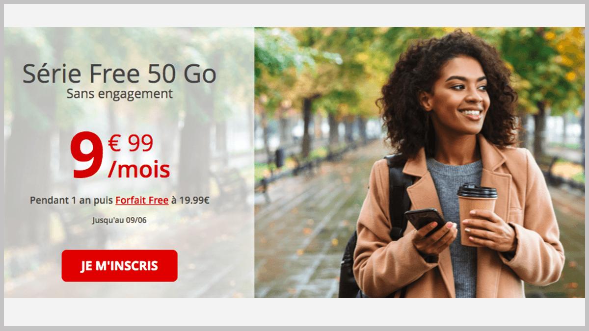 Free mobile sans engagement