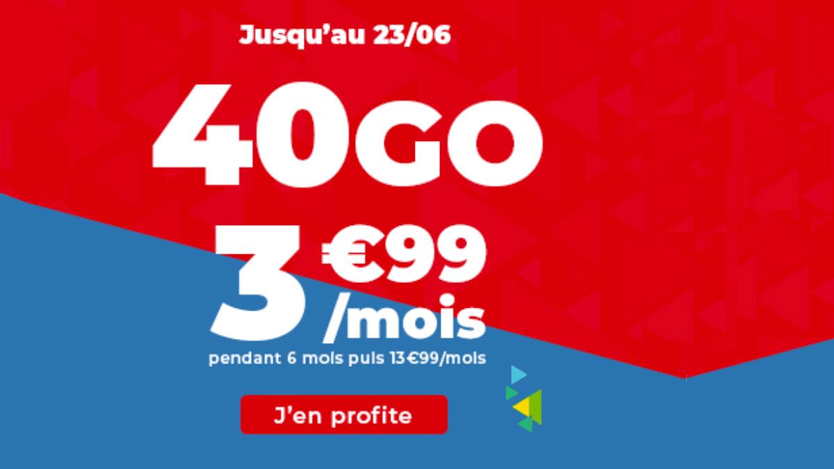 Le forfait en promo de Auchan Telecom est disponible.