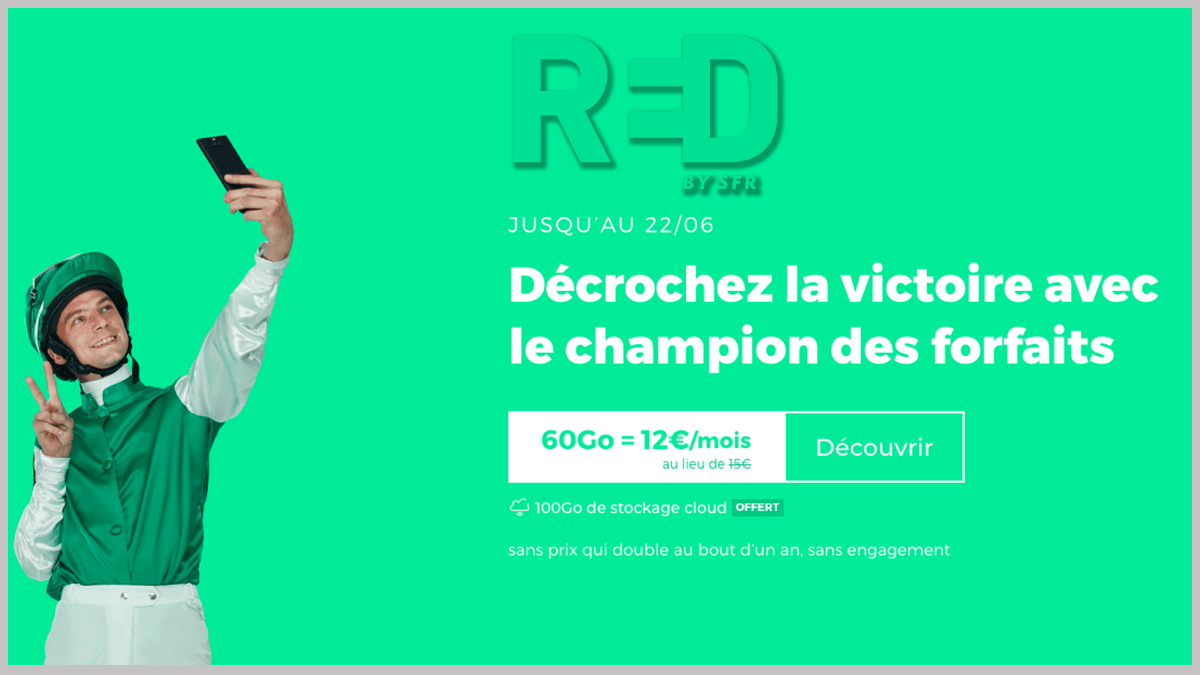 RED by SFR à 12€/mois