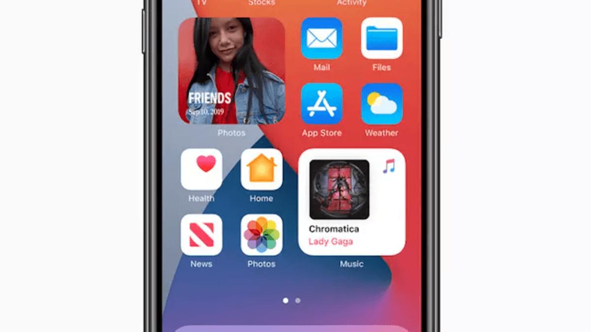IOS 14 change l'écran d'accueil de l'iPhone avec de nouveaux widgets.
