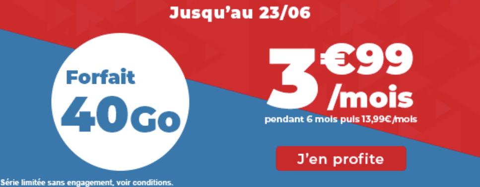 Le forfait 4G de Auchan Telecom