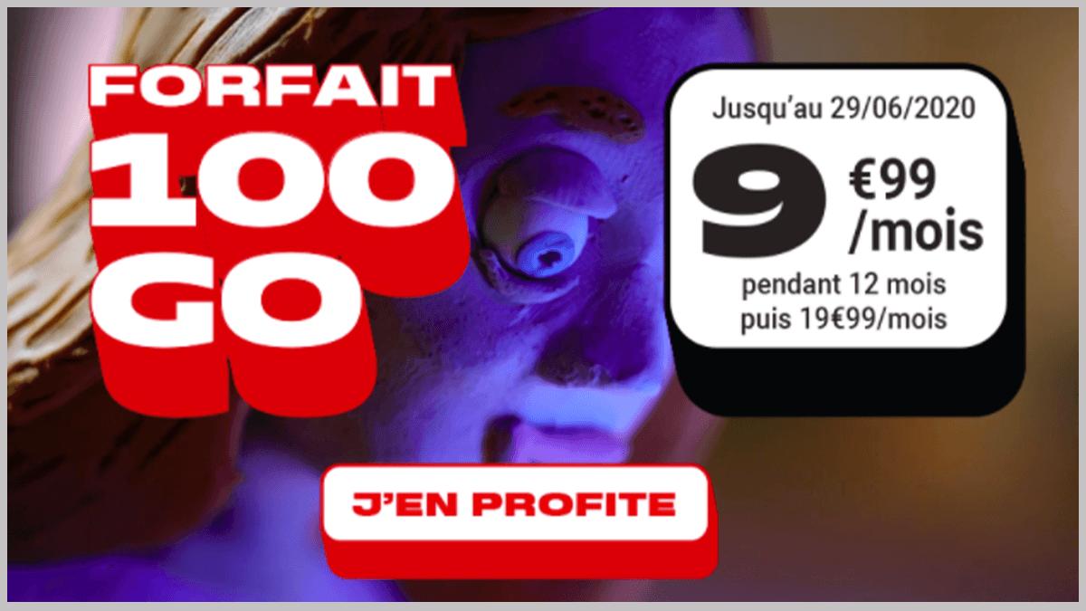 100 Go de data avec NRJ Mobile