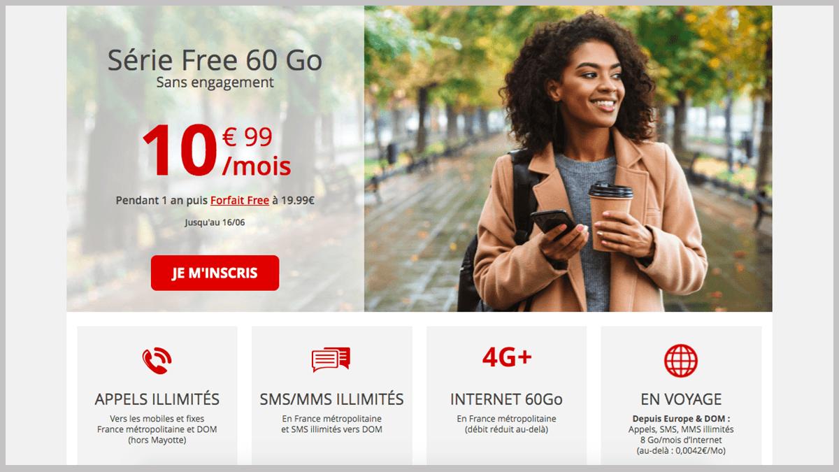 Free mobile en Série Free