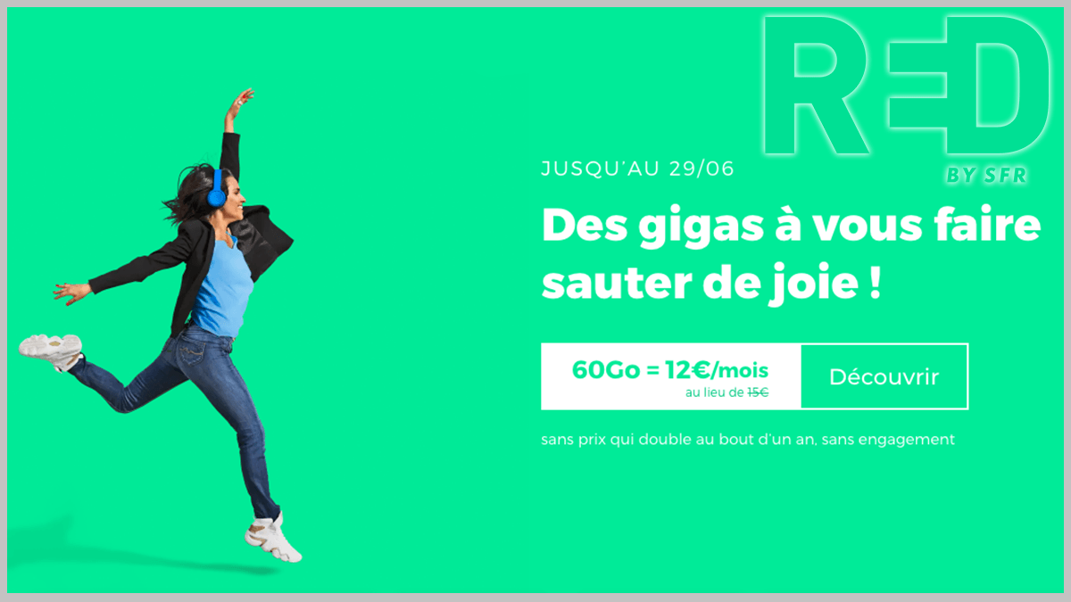 Forfait RED by SFR en promo