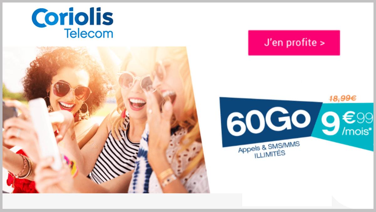 Coriolis Telecom en promotion