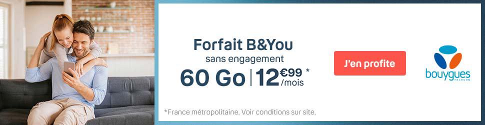 Forfait B&YOU
