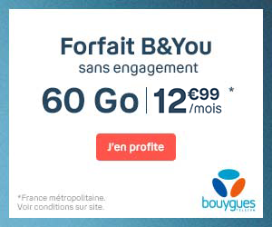 Forfait B&YOU