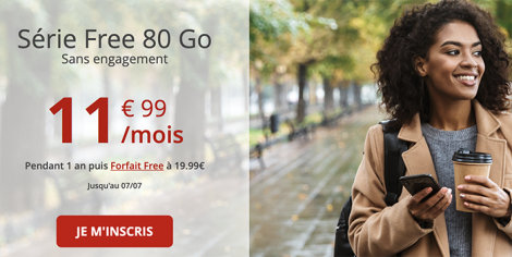 Free 80 Go