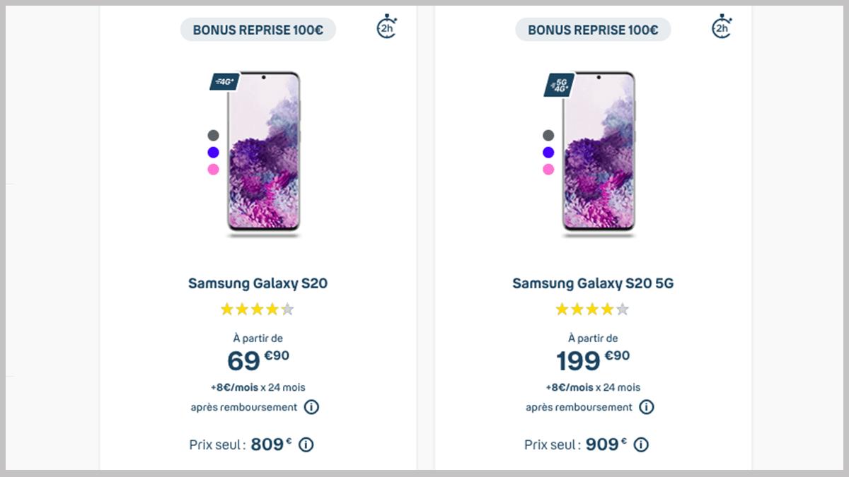 Smartphones en promo