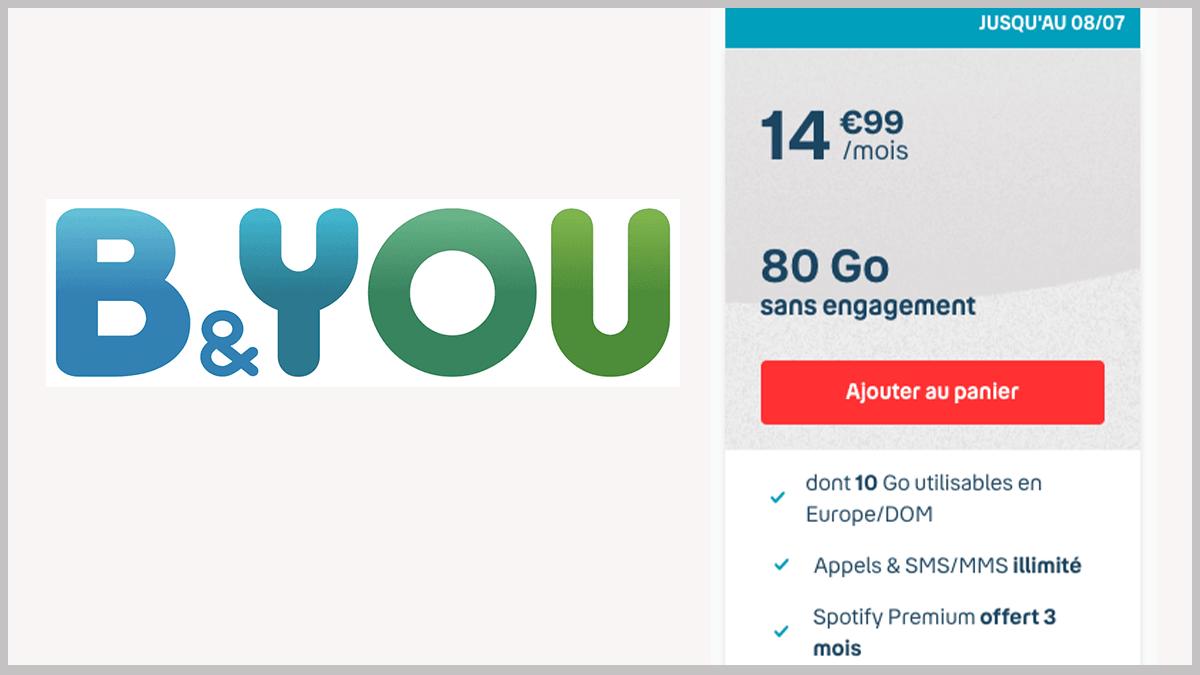 80 Go et Spotify Premium