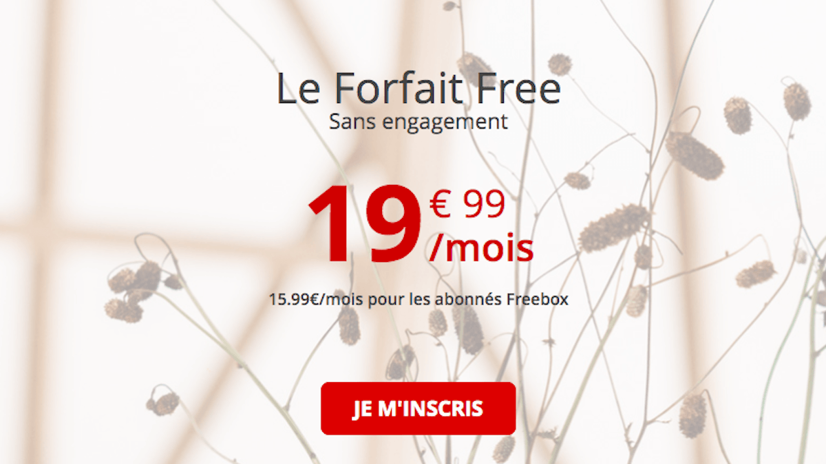 Forfait Free 100 Go